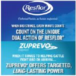 Zuprevo®/Resflor® Dosing Charts